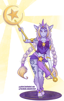 Star Guardian Soraka by Sugar-Rei