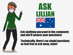 Ask Lillian! Ask Her About Stuff! by adimetro00