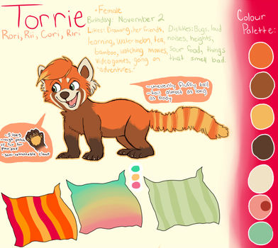 Torrie Reference 2011 by starsweep