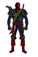 Slade Wilson by Chiracy