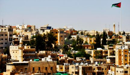 Jabal Amman(Oil painting filtered photography) by OxygenEX