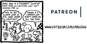 Patreon Update: Meeting Kat's mom / where Cat goes by bakertoons