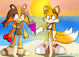 Taicks: Sticks x Tails by Heavenly-Bright