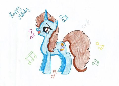 Happy Melody with notes by HappyDia