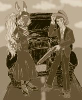 Bonnie and Clyde FF12 style by FenrisFenrir89