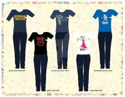 Darren's T-Shirt Collection [Paper] by razzysri