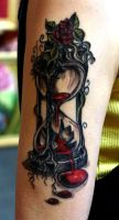 Hourglass Tattoo by ArtOfAsthar