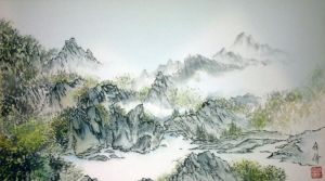 river of mountains by blackbeat