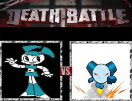 Request #51 Jenny Wakeman vs Robotboy by LukeAlanBundesen