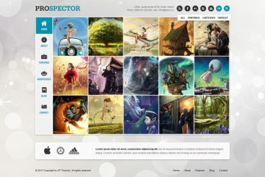 Prospector Responsive Portfolio Wordpress Theme by ait-themes