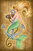 Mermaid by GinnyMilling