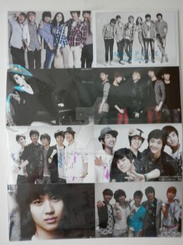 SHINee multi photos poster 2 by YuukiCrossKisa-VK