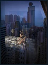 ghostly Hong Kong by photoport
