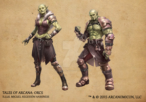 Tales of Arcana 1st Set - Orcs by TalesofArcanaRPG