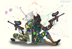 Funny paintball by multyashka-sweet