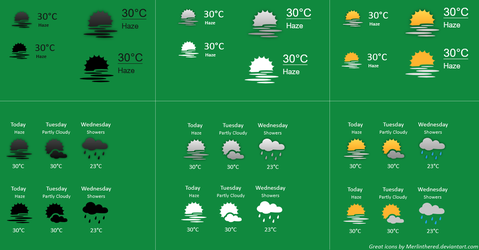 Weather Vector 1.0 by chumeodihia
