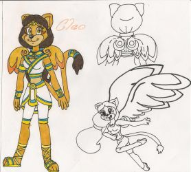 Cleo the Sphinx by CooperGal24