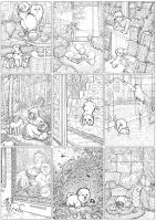 Puppies. colouring book preview by barbarasobczynska