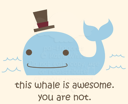 Awesome Whale by pai-thagoras