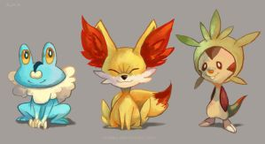 X Y Starters by Pepperoonie