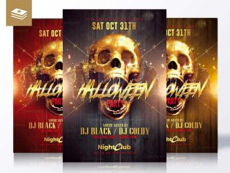 Halloween Graphics Design by RomeCreation