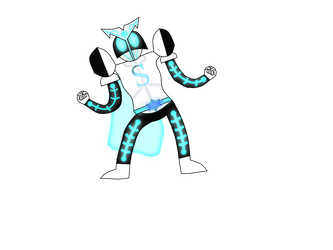 Redesign - KAMEN RIDER STRONGER: CHARGE UP by SharpClawPokemon