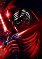 Kylo Ren - Star Wars VII - Speed Paint by Yue by masteryue