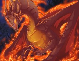 This guy's on fire by magmi