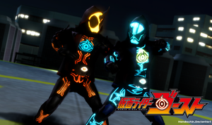 [MMD]If On That Day They Clashed... by handashin