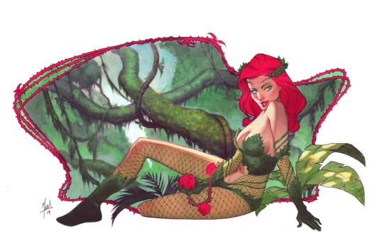 Poison Ivy Commission by ZurdoM