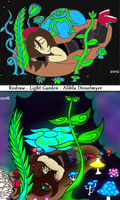 Redraw Challenge - Light Garden by forestchick501