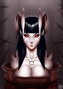 Sisterhood of Shadows - Hatred portrait by DoomXWolf