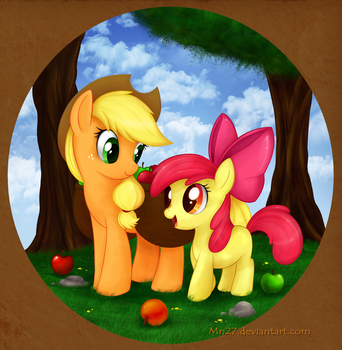 Sweet Apple Sisters by Mn27