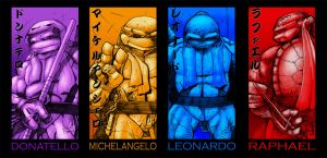 TMNT Contest Posters complete by tmntanimated