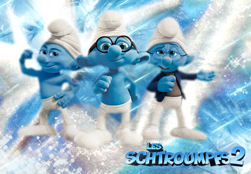 Schtroumpfs 2 by lilylolalay