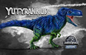 Yutyrannus by wingzerox86