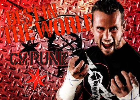 CM Punk Wallpaper by F4wk3s