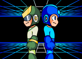 Quint - MegaMan by Doctor-G