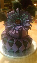 Mad Hatter Birthday Cake by cookie0587