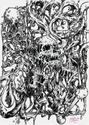 Sludgy Skulls by CallieFink