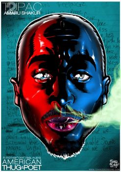 2pac by Franzscire
