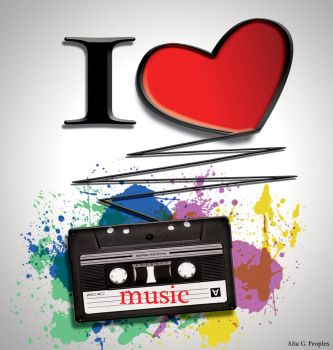 I heart MUSIC by kat-peoples