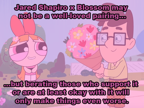 DA PSA: Jared Shapiro x Blossom by TotallyDeviantLisa