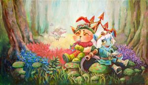 Best Friend Yordles by rozemira