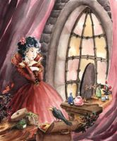Snow White's Stepmother by asiapasek