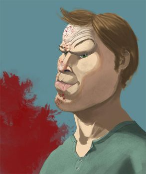 Dexter Morgan by Pables