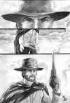 Clint Eastwood commission by JoeyLeeCabral