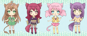 Adoptables - Batch 5 [CLOSED] by MidnightAdoptss