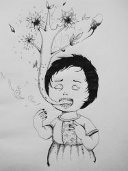 Psychedelic Drawing by ashilraj