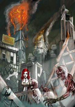 Zombie world by LordMiste